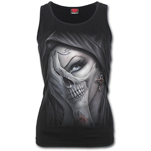 Spiral Dead Hand Tank Top Shirt Engel Elfe Gothic (Top Gothic Shirt)