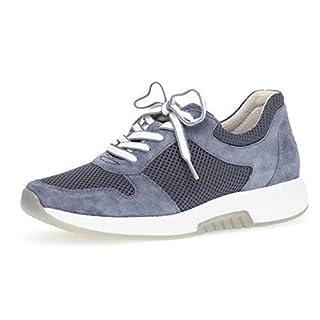 Gabor 26.946 Damen Sneaker,Low-Top Sneaker, Frauen,Halbschuh,Sportschuh,Schnürschuh,atmungsaktiv,Optifit- Wechselfußbett,Nautic,4 UK