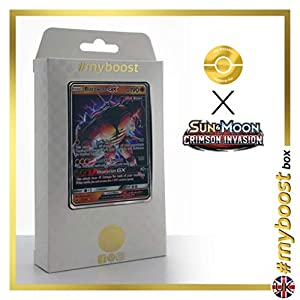 Buzzwole-GX 57/111 - #myboost X Sun & Moon 4 Crimson Invasion - Box de 10 cartas Pokémon Inglesas