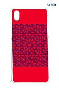 Lorem Back Cover For Sony Xperia Z2 (L50t)-Multicolor-L16104
