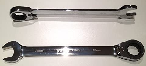 Yato professional combination reversible ratchet spanner wrench 11 mm 72 teeth (YT-1654) by Yato