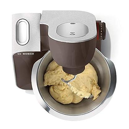 Bosch-MUM5-MUM58A20-CreationLine-Premium-Kchenmaschine-vielseitig-einsetzbar-groe-Edelstahl-Schssel-39-l-Glas-Mixer-Durchlaufschnitzler-1000-Watt-grausilber