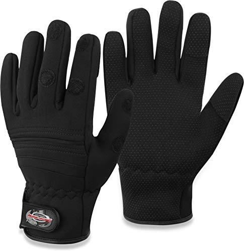 Angelsport 1Paar Herren Neopren Handschuhe Anti-Slip 3 Fingern Anglerhandschuhe Handschuhe