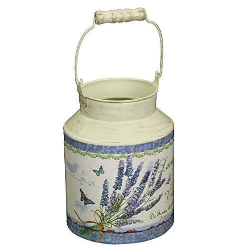 Colambi Lavendel Deko Milchkanne Vintage vase Shabby chic Michkanne in Landhausstil - Vintage Garden Vase
