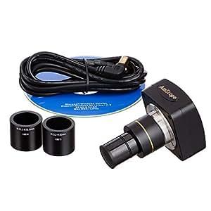amscope 3MP Microscope USB 2.0Logiciel photo numérique 3MP