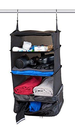 Xcase Koffer Ordnungssystem: XL-Koffer-Organizer, Packwürfel zum Aufhängen, 30 x 64 x 30 cm (Organizer-Tasche für Koffer)