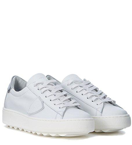 in Philippe Sneaker Bianco Model Pelle Madeleine Bianca AAZq7HPn