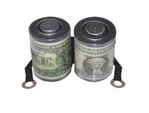 Devils Nadel Tattoo Maschine/Zubehör/Ersatzteile–Spulen–3Designs erhältlich Green Dollar Bill (Design Maschine Tattoo)