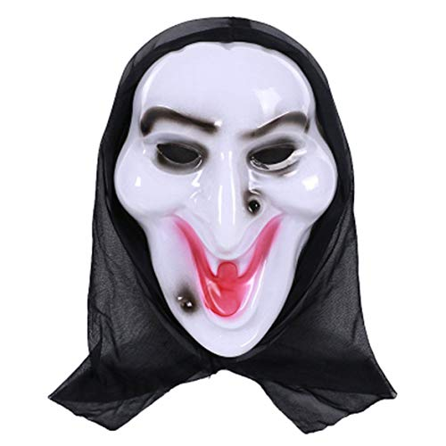 lloween Fancy Dress Adult Costume Accessory Adult Halloween Horror Face Mask Party Cosplay Full Face Mask ()
