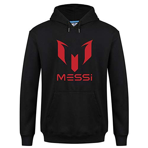 436ad003ea Shocly Sudadera Barcelona No. 10 MessiSoccer ClubRound Cuello Regalo de  fútbol de Manga Larga para