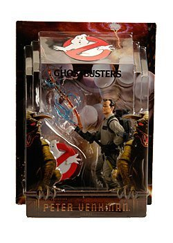 Mattel Ghostbusters 16cm Figur: Peter Venkman with Proton Stream