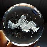 SJQ Der kleine Prinz Crystal Ball Arrangement Spieluhr, Geburtstagsgeschenke für Jungen und Mädchen, 60MM Crystal Base