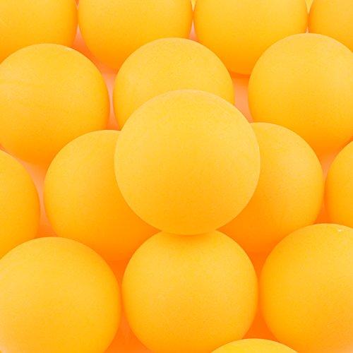 Pack de 150plástico pelotas de tenis de mesa PING PONG Balls 40mm para aficionados de entretenimiento, tenis de mesa la formación, adultos y niños juegos (amarillo)
