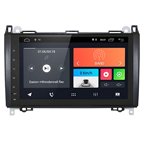 Android 9.0 GPS Stereo 9 Inch Touchscreen USB Bluetooth Autoradio 2 Din NAVI Mercedes Sprinter/Vito W639/Viano/B200/B150/B170/A180/A150/B-Klasse W245/A-Klasse W169