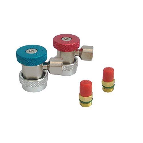 A/C Kompressor R-134 A Quick Manuelle Coupler Adapter R SAE j-639 Stecker (Wechselstrom Kompressor-adapter)