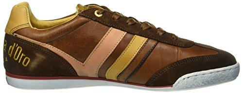 Pantofola d'Oro Herren Vasto Uomo Low Top Braun (jcu)