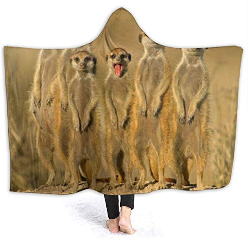 Red Kingpin Tragbare Hoodie Decke African Cricket Hooded Throw Wrap Cape Umhang Spa Kinder Wendbare Couch Bett Schal Flanell Fleece mit Ärmeln
