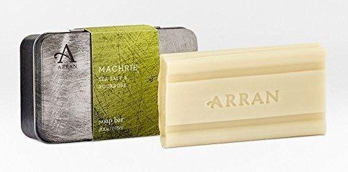 Arran Machrie Sea Salt and Rockrose Soap in a Tin 200g