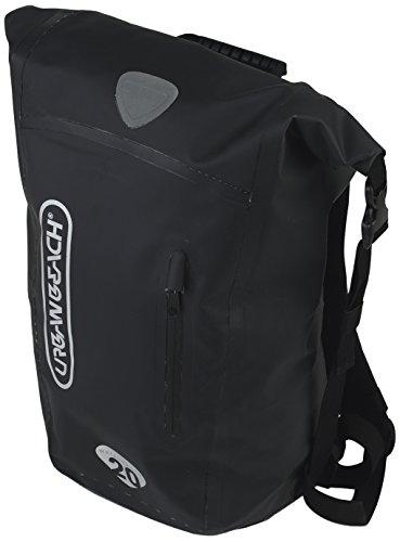 Urban Beach Unisex Wasserdichte Rolltop Trockentasche – 30 L, unisex, Waterproof Rolltop Dry Bag, schwarz Urban Waterproof Boot