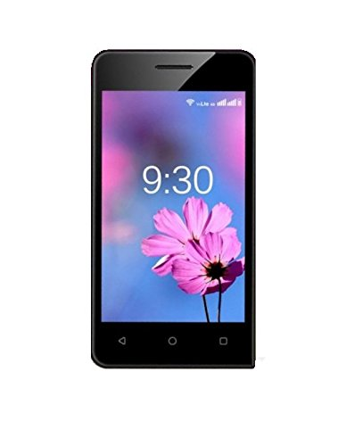 Ziox Astra Nxt 4 Inch Marshmallow 512mb & 4gb 4g Smartphone (black-champagne)