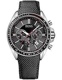 Hugo Boss Herren-Armbanduhr XL Driver Sport Chronograph Quarz Nylon 1513087