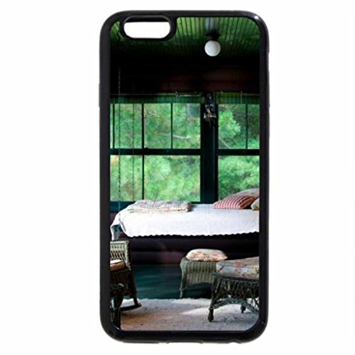 iPhone 6S / iPhone 6 Case (Black) summer sleeping porch