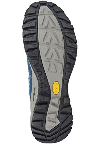 AKU chaussures de randonnée trekking 342-109 Trans Alpina GTX Hommes Gris Vert Multicolore