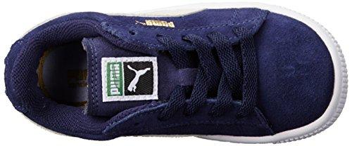 Puma , Baskets mode pour garçon noir noir/blanc Peacoat/Team Gold