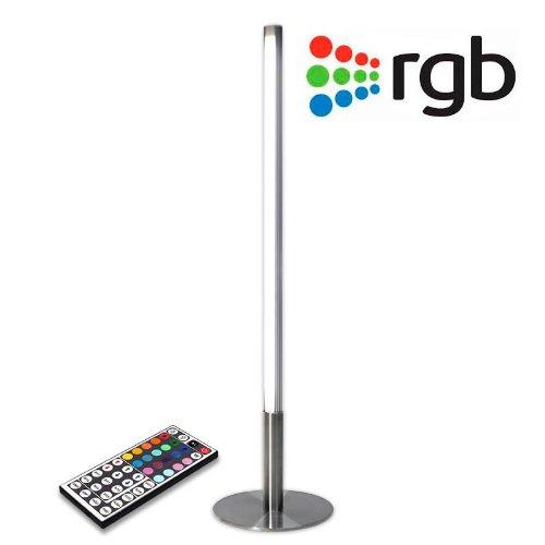 Lámpara de mesa LED Lumo Rondigi, RGB. Lámpara RGB Led con mando a distancia