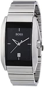 Hugo Boss - 1512479 - Gents Watch - Analogue Quartz - Black Dial - Stainless Steel Silver Strap