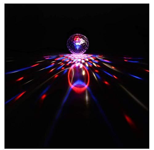 sik Nachtclub Lichter Bühneneffekte Bühnenbeleuchtung Party Lichter Dekoration mit USB-Karaoke, Geburtstag und Halloween ()
