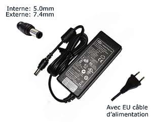 """AC Adaptateur secteur pourDell 0J408P ADP-150EB ADP-150RB B D2746 DA150PM100-00chargeur ordinateur portable, adaptateur, alimentation """"Laptop Power (TM)"""" de marque (avec garantie 12 mois et câble d'alimentation européen)"""