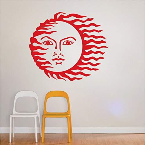 DADADUR Wandaufkleber Wanddekoration Abstrat Sun Wand Aufkleber Für Zuhause Schlafzimmer Modernen Mode-Stil Decor Sonne Kunst Design Schöne Wandaufkleber Wandbilder Qualität