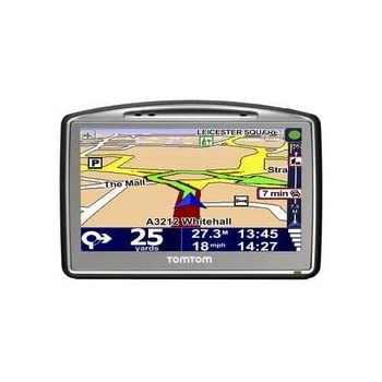tomtom go 520 satellite navigation system with uk. Black Bedroom Furniture Sets. Home Design Ideas