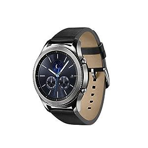 "Samsung Gear S3 Classic - Smartwatch Tizen (Pantalla 1.3"" Super AMOLED 360x360, GPS Integrado, Batería 380 mAh, Altavoz Integrado), Plateado"