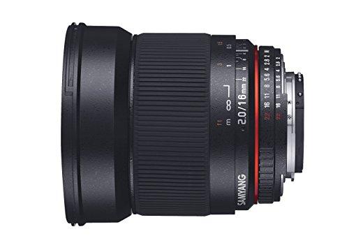 Samyang 16mm F2.0 Objektiv für Anschluss Nikon AE - 4