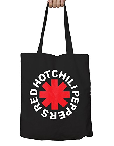 Red Hot Chili Peppers Tote Eco Shopper Bag Asterisk Logo Nue offiziell