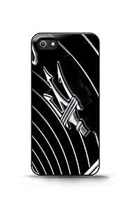 Coque iPhone 5/5s - Maserati trident telephone Cas coquille pour iPhone 5 / 5s