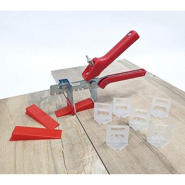 Nivelliersystem Fliesen Nivellierhilfe Fliesenwerkzeug 500 St/ück Standard Laschen Fugenbreite 3mm Zuglaschen Fugenbreite Verlegehilfe f/ür Fliesen H/öhe 3-12 mm Fliesen-Nivelliersystem
