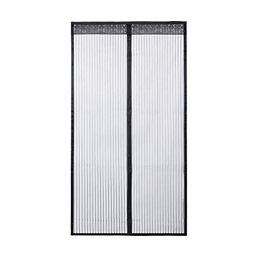 Qimh - zanzariera magnetica per porte, tiene fuori zanzare e insetti, ma lascia entrare l'aria fresca, si chiude come per magia senza dover usare la mani, disponibile in due misure (90x 210cm, 100x 210cm)