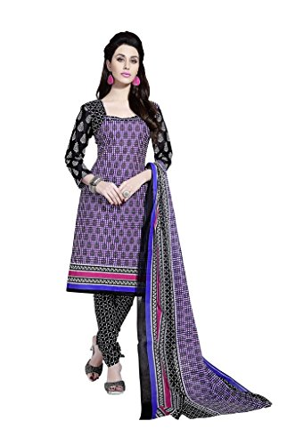 Readymade Minu Suits Cotton Stitched Dress Material New Purple