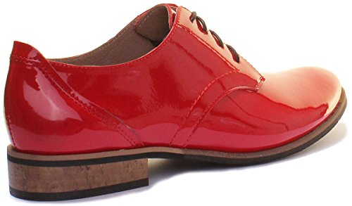 Justin Reece 3010, Talons Rouges Pour Femmes (red Patent N12)