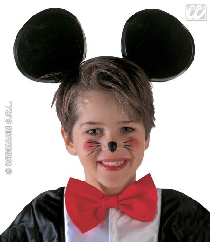 Kopfbügel mit Maus Ohren (Mouse Mickey Adult Kostüme Halloween)