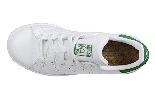 ftwwht Adidas Da ftwwht green Ginnastica Uomo Bianco Scarpe Stan Smith
