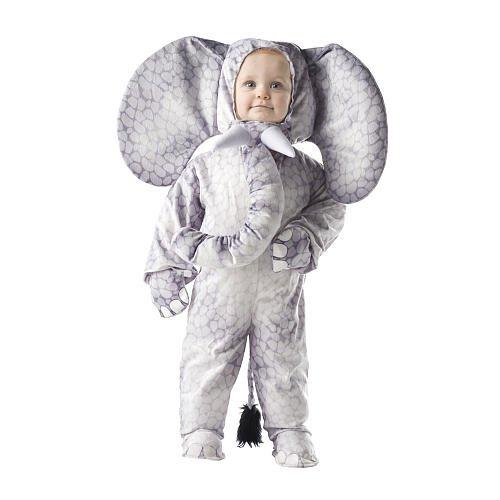 Underwraps Elefant (Scary Kleinkind Halloween-kostüme Für)