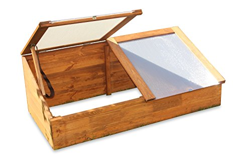 floristikvergleich.de Gewächshaus Treibhaus Frühbeet Kasten aus Holz