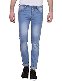 X-CROSS Denim Jeans For Men – Durable Comfortable Light Blue Men Jeans For Everyday Use – Stylish Fashionable...