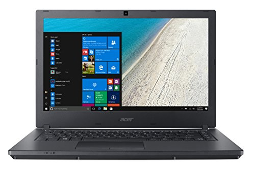 "Acer TravelMate P2 TMP2510-M-555Y Notebook con Processore Intel Core i5-7200U, RAM da 8 GB DDR4, 256 GB SSD, Display 15.6"" HD LED LCD , Scheda Grafica Intel HD 620, Windows 10 Professional, Nero"