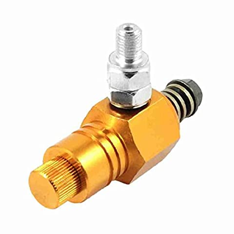 Move&Moving(TM) Gold Tone 9.5mm Thread Anti-lock Brake System Hydraulic Control Unit