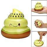 TAOtTAO Squishy Kawaii Kiwi Frucht POO langsam Steigende Creme duftenden Stress Relief Spielzeug
